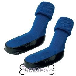 Dog Socks Blue