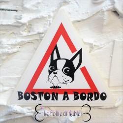 Adesivo Boston a Bordo