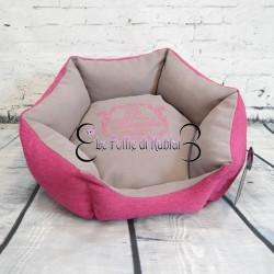 Milk&Pepper Sofa Exagonal Pink