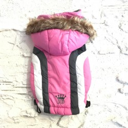 Hip Doggie Cappotto Alpine Rosa
