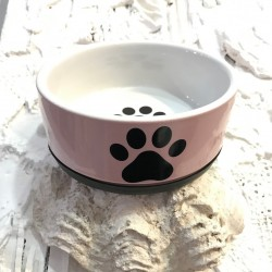 Nobby Ciotola Ceramica Paw Rosa