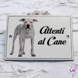 Attenti al Cane Dogo Argentino
