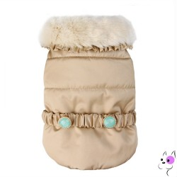 Pretty Pet Cappottino Coco Coat Gold