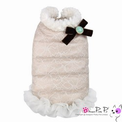 Pretty Pet Lace Coat Pink