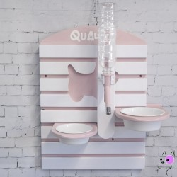 Bar Pet Dinning Table Pink