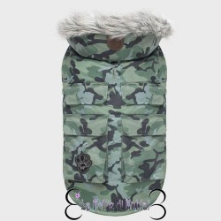 Canada Pooch Cappotto Everest Explorer Green Camo