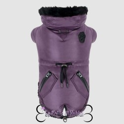 Canada Pooch Cappotto Urban Wax Parka Purple