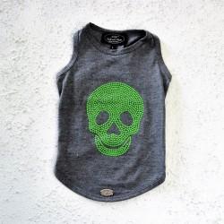 Trilly tutti Brilli T-Shirt Teschio Verde Fluo